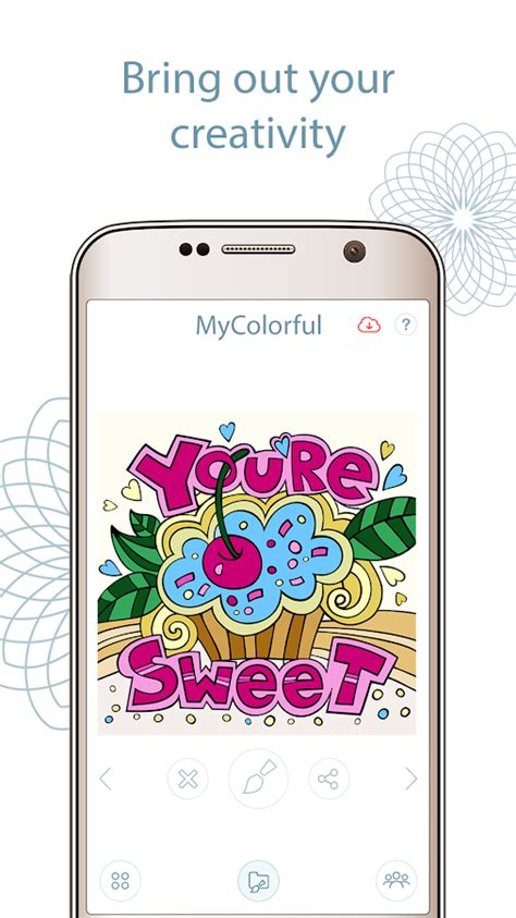 coloring book app android coloring book app mycolorful android apps on play