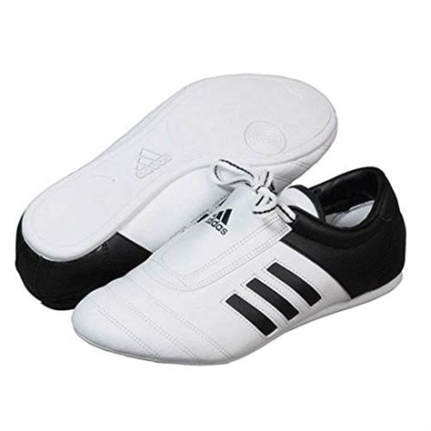 adidas 174 kick shoes martial arts sneaker white with black stripes buy in uae misc