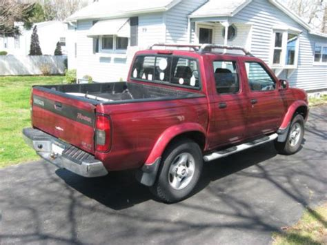 purchase used 2000 nissan frontier se v6 four door crew