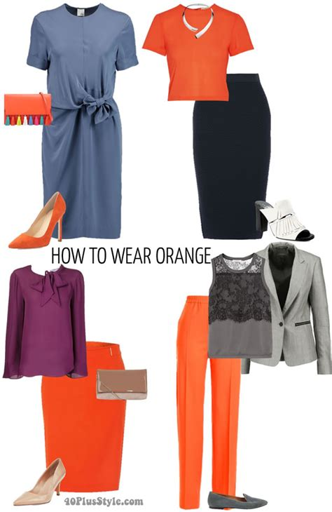 colors to wear to an how to wear orange 7 color combinations to get you