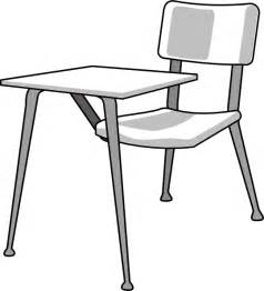 Desk And Chair Clipart Furniture School Desk Clip At Clker Vector Clip