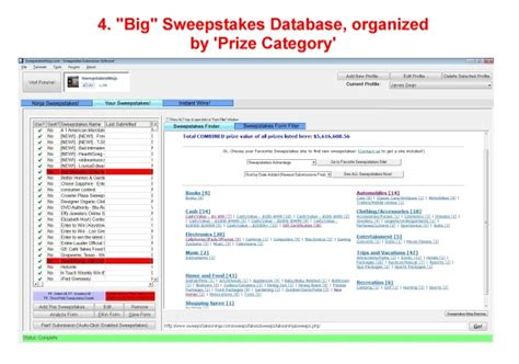 Www Security Finance Com Sweepstakes - sweepstakes ninja business management software for pc