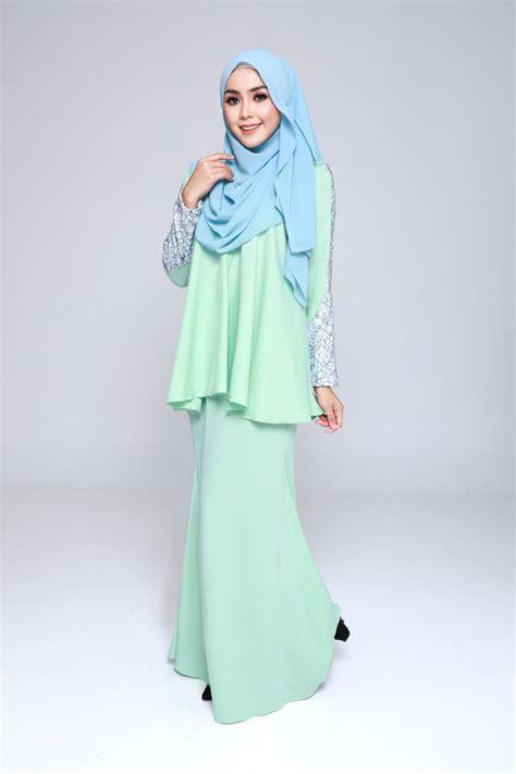 Baju Kurung Moden Warna Pastel baju kurung moden paddlepop green mint lovelysuri