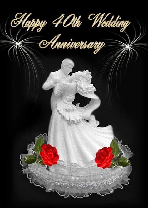 Wedding Dedication Blessing by Quot Dedication Happy 40th Wedding Anniversary Jean Bob