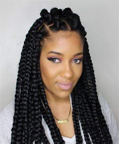hairstyles for block braids 70 best black braided hairstyles that turn heads in 2018
