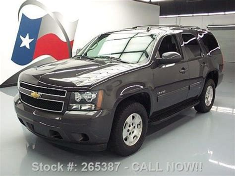 buy used 2011 chevy tahoe 9 passenger leather running