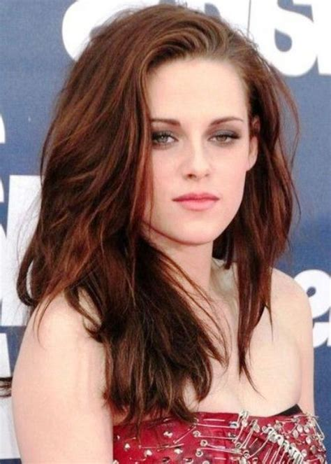 kristen stewart hair color 17 best images about hair styles on side