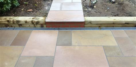 Patio Drainage Channel by Drainage Solutions A Recent Study Alda Landscapes