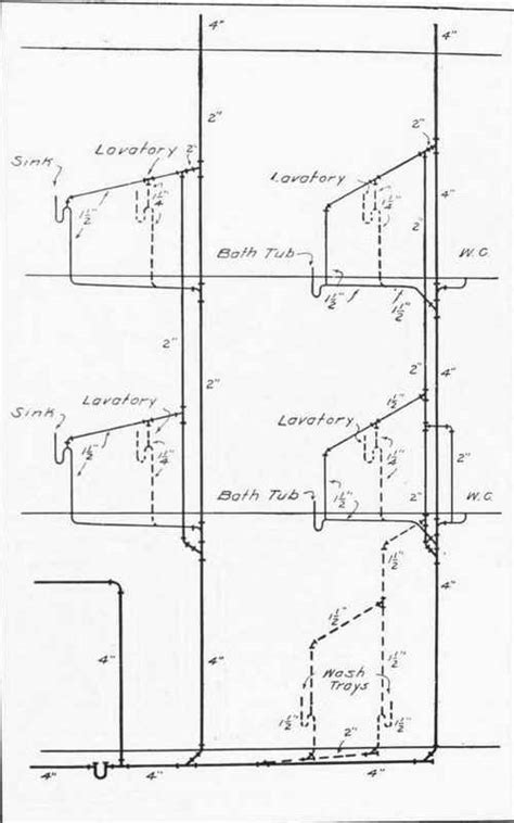 Plumbing Drawing by Plumbing Topic Domestic Water Recirculation Systems Part