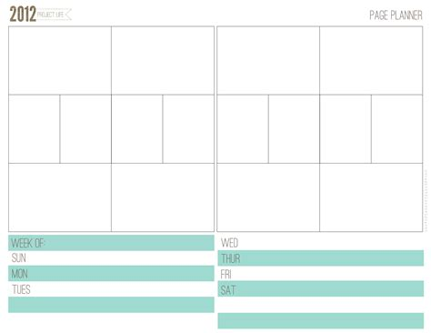 project life printable planner project life jeanne