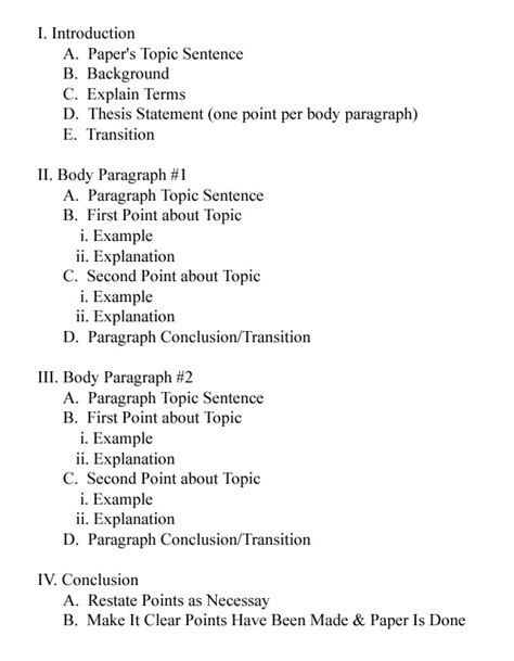 essay format body paragraph how to outline an essay the proofreading pulse