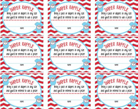Thing 1 And Thing 2 Baby Shower by Thing 1 Thing 2 Baby Shower Raffle Tickets Sign