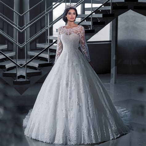 Winter Wedding Gowns by Popular Sleeve Winter Wedding Dresses Buy Cheap