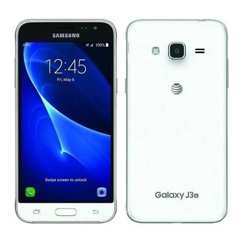 Samsung Galaxy J3 Smartphone White samsung galaxy j3 white computing phones from powerhouse je uk
