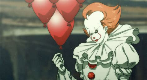 anime the movie it movie gets an anime makeover