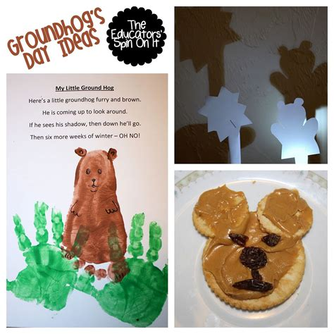 groundhog day ideas groundhog day ideas for the educators spin on it