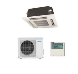 daikin air conditioning ffqc mini cassette  kw  btu  heat pump inverter  hz