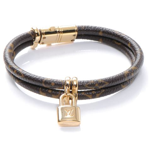 louis vuitton monogram keep it bracelet 48507