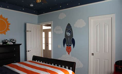childrens bedroom space theme awesomely creative space decorations for bedrooms for