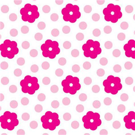 pattern flower simple simple pink flower seamless pattern vector freevectors net