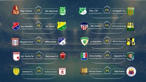 Calendario Liga Aguila Calendario Liga 193 Guila 2018 I
