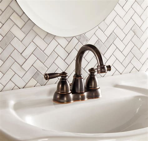oil rubbed bronze effect is a perfect solution for the choosing the right bathroom faucets the home depot canada