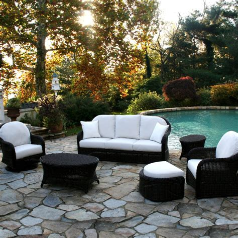 Black Wicker Patio Furniture Desig For Black Wicker Patio Furniture Ideas 20042