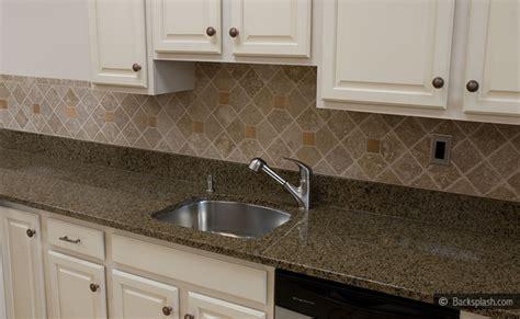 kitchen backsplash ideas white cabinets brown countertop tropic brown countertop travertine backsplash tile