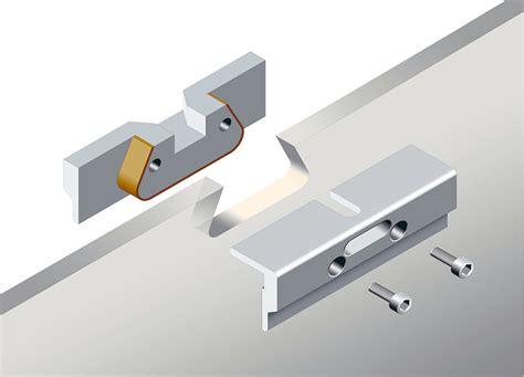 accessori per porte in vetro supporti per porta scorrevole in vetro eclisse