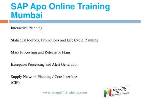 sap tutorial mumbai sap apo online training in usa