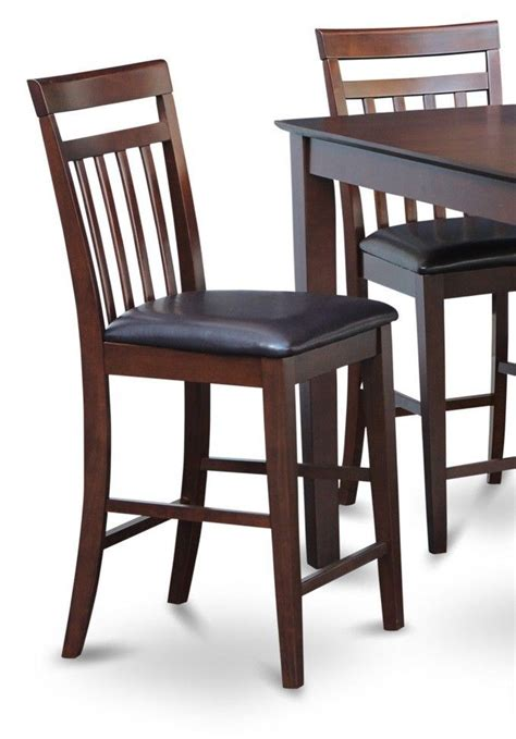 bar stool chairs for the kitchen set of 3 kitchen counter height bar stool chairs with faux