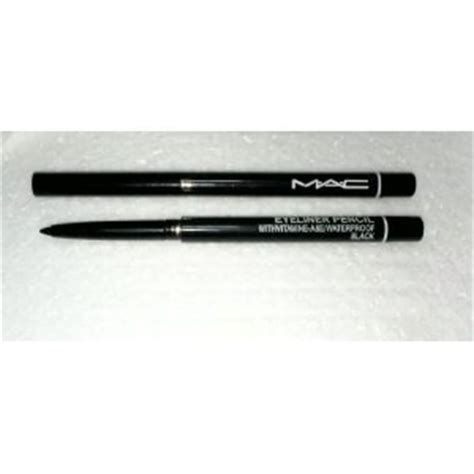 Mac Mascara Dan Eyeliner 2 In 1 Waterproof And Lasting mac eyeliner pencil black with vitamin a e and waterproof 2 pack brand new