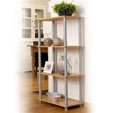 costruire uno scaffale in legno libreria scaffale in legno 4 ripiani 60 x 111 x 29 cm