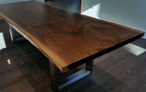 black walnut live edge table live edge black walnut slab table