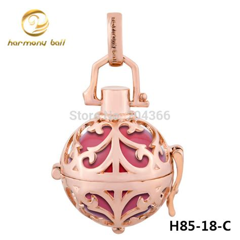 Gold Fashion Jewelry Pendant Kalung Bola Elegan Buy H85 18 Designer Jewelry Mexican Bola Pendant 1pc 18mm