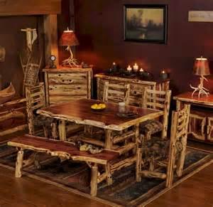 Kitchen Table Stores Aromatic Cedar Log Dining Table Juniper Tables Cedar Log Furniture