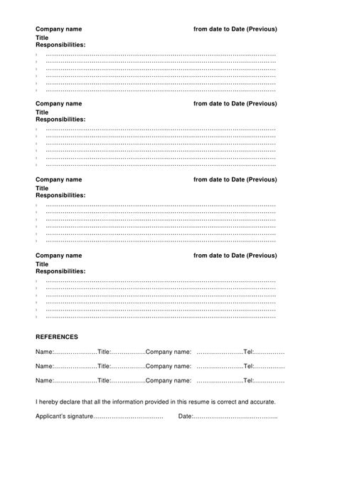 standard format resume the best format for a resume comely what