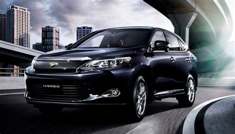 toyota lexus 2014 2014 toyota harrier details revealed 2 0 or 2 5 hybrid