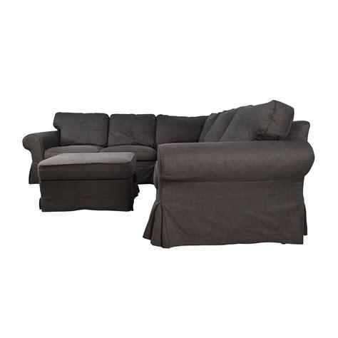 ektorp sofa sectional 39 off ikea ikea ektorp gray corner sectional with