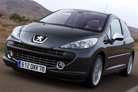 auto pezo 2007 peugeot 207 rc review top speed