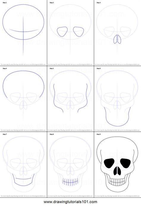 tutorial skull best 25 how to draw skulls ideas on simple