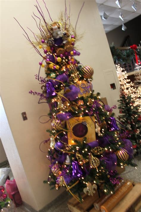 lsu christmas tree this is how i would decorate my tree