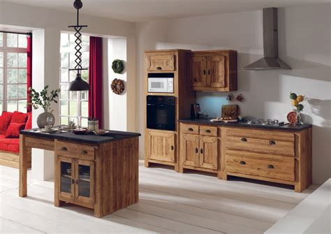 ilot cuisine bois cuisine ravishingly ilot cuisine bois rustique ilot
