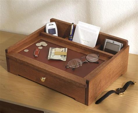 woodworking plans for bedroom furniture dresser top valet woodworking plan from wood magazine