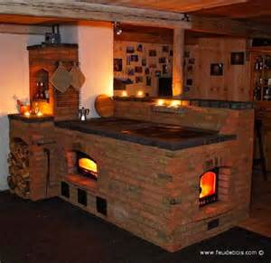 Amish Kitchen Island Masonry Wood Stoves Nifty Homestead
