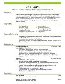 Sample Lawyer Resumes lawyer resume example