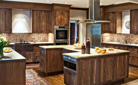 u shaped kitchen island design decoration