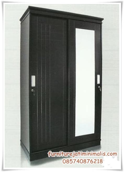 Lemari Kayu Jati 2 Pintu lemari jati sliding 2 pintu lemari jati sliding lemari