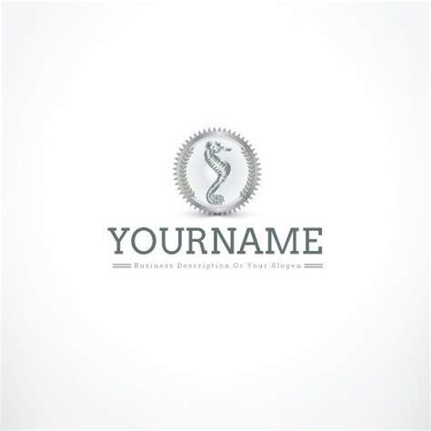 exclusive logo design seahorse logo templates