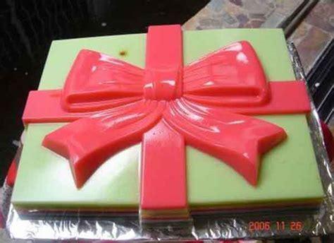 Cetakan Silikon Puding Kue Gift cetakan silikon puding kue gift cetakan jelly cetakan jelly